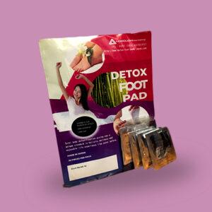 detoxifying foot pads, foot pads, detoxing pads
