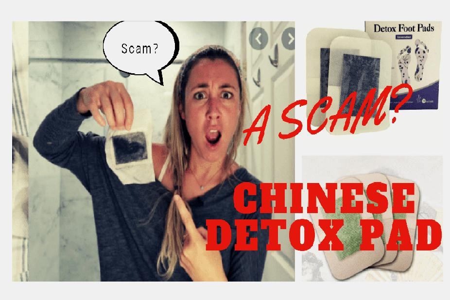 Is Chinese detox pad a scam